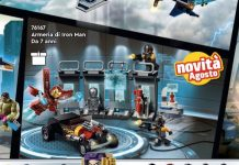 LEGO Marvel - Armeria di Iron Man (76167)