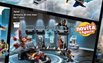 LEGO Marvel - Armeria di Iron Man (76167)