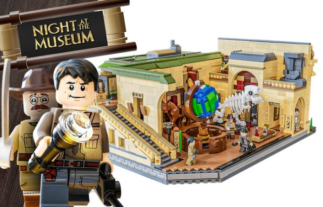 LEGO Ideas: Night at the Museum