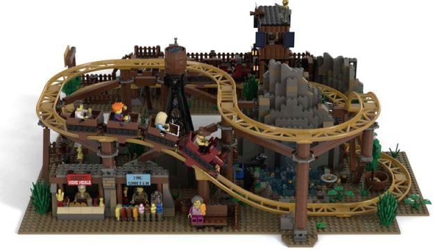 Gold Rush Mine Train Roller Coaster