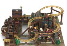 Gold Rush Mine Train Roller Coaster