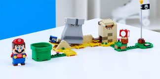 LEGO-Super-Mario-40414-Monty-Mole-Super-Mushroom-Expansion-Set