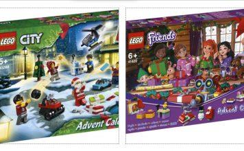 Rivelati i Nuovi Calendari dell'Avvento LEGO City e Friends 2020