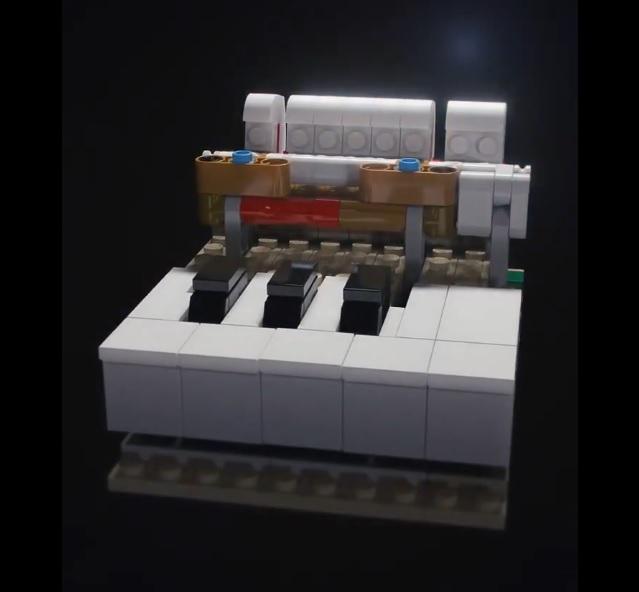 Teaser del set LEGO Ideas Piano (21323)