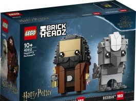 LEGO BrickHeadz Harry Potter Hagrid and Buckbeak (40412)