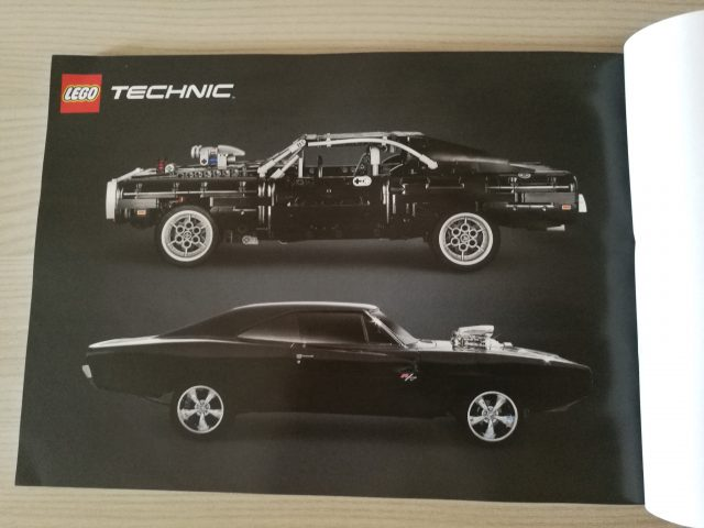 LEGO Technic - Dom's Dodge Charger (42111)