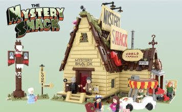 Gravity falls The Mysery shack