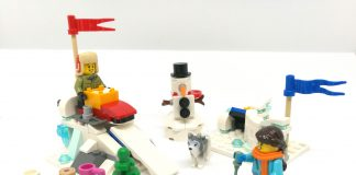 LEGO Seasonal Winter Snowball Fight (40424)