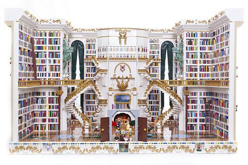 La biblioteca della Bella e la Bestia