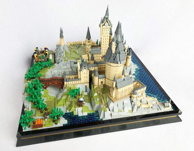 hogwarts in miniatura