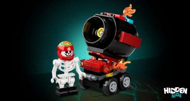 LEGO Hidden Side Il Cannone di El Fuego (30464)