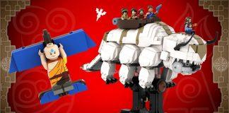LEGO Ideas Avatar- The Last Airbender - YIP YIP!