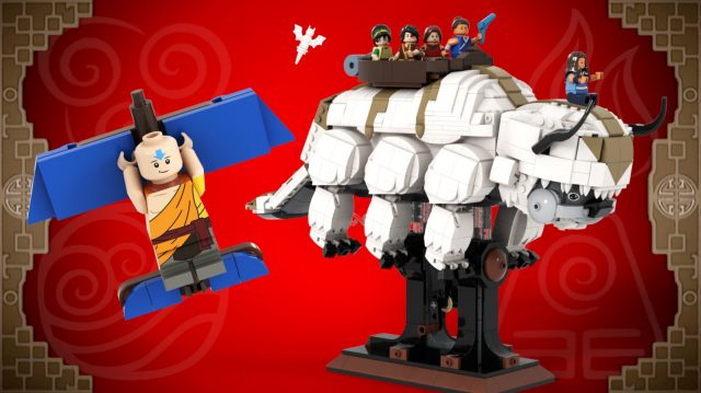 LEGO Ideas Avatar- The Last Airbender - YIP YIP!