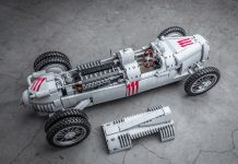 Auto union type c racecar