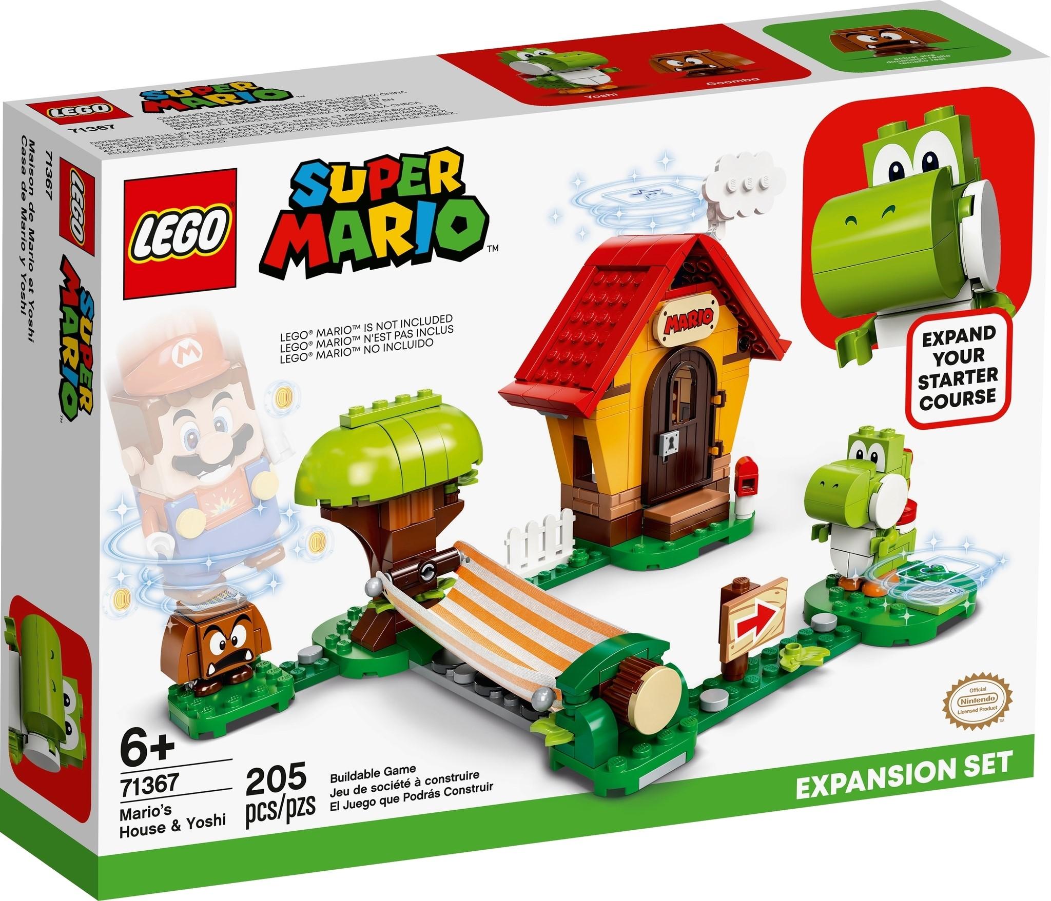LEGO Super Mario 71367 - Casa di Mario e Yoshi