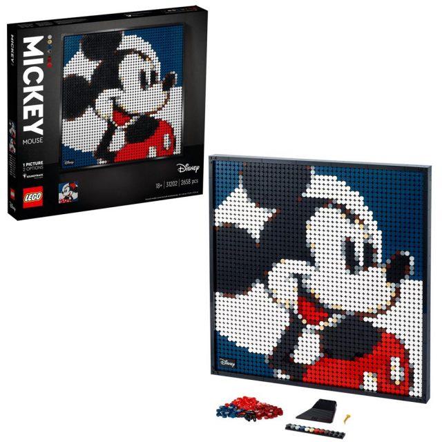 LEGO-Wall-Art-Mickey-Mouse-31202