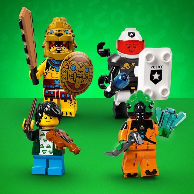 Minifigure LEGO Collezionabili Serie 21 (71029)