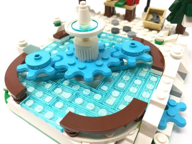 LEGO Stagionale Pista di Pattinaggio sul Ghiaccio (40416)