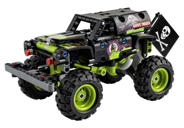 LEGO-Technic-Monster-Jam-Grave-Digger-42118
