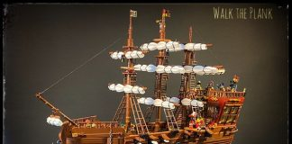 Nave pirata e fondale marino