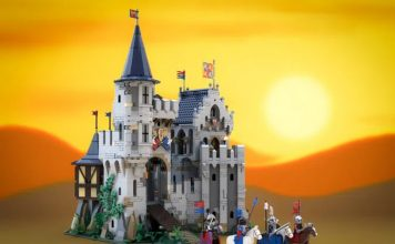 Castle of Lord Afol and the Black Knights
