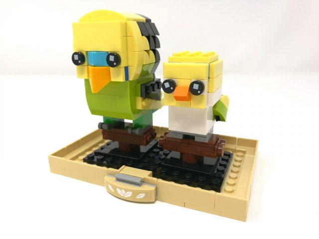 LEGO BrickHeadz 40443 - Pappagallino