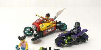LEGO Monkie Kid 80018 - Cloud Bike di Monkie Kid