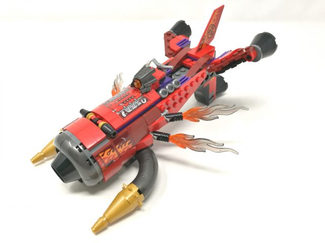 LEGO Monkie Kid 80019 - Jet Inferno di Red Son