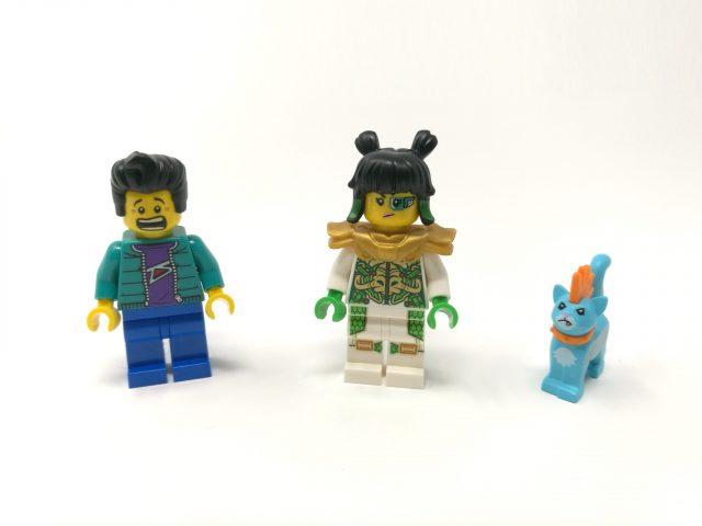 LEGO Monkie Kid 80020 - Jet meccanico White Dragon