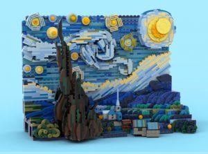 LEGO-Ideas-Vincent-van-Gogh-The-Starry-Night