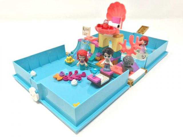 LEGO Disney 43176 - Il libro delle fiabe di Ariel