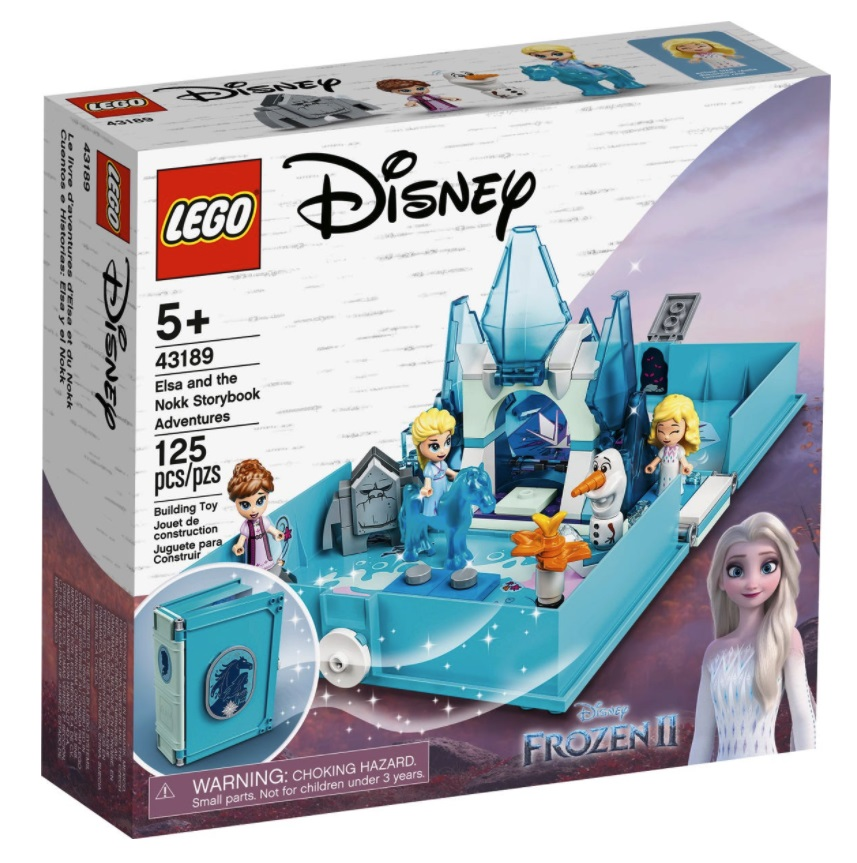 LEGO Disney 43189 - Elsa e le avventure fiabesche del Nokk
