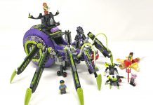 LEGO Monkie Kid 80022 - Base aracnoidea della Spider Queen