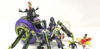 LEGO Monkie Kid 80022 - Base aracnoidea della Spider Queen