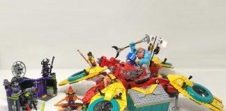 LEGO Monkie Kid 80023 - Dronecottero del team di Monkie Kid