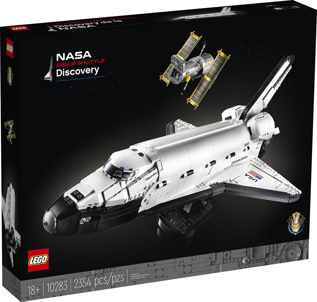 NASA Space Shuttle Discovery (10283)