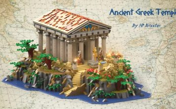 Antico tempio greco