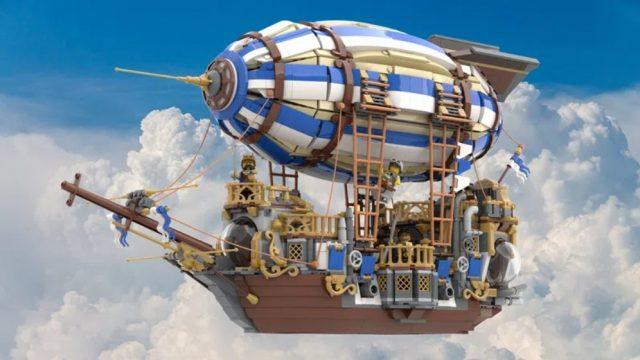 dirigibile steampunk