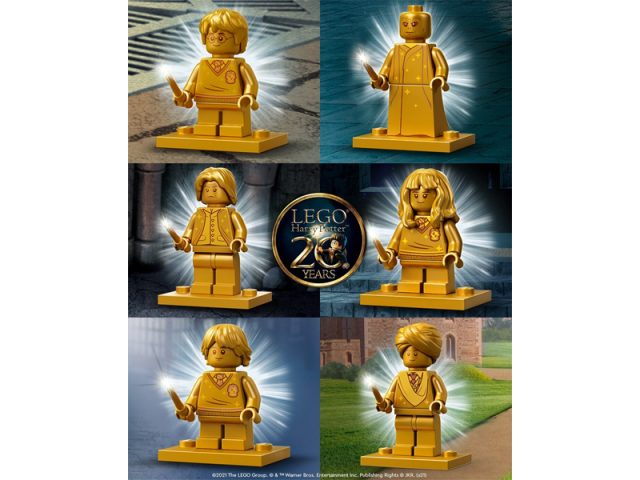 LEGO-Harry-Potter-Golden-Minifigures