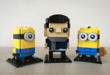 LEGO Brickheadz 40420 - Gru, Stuart e Otto