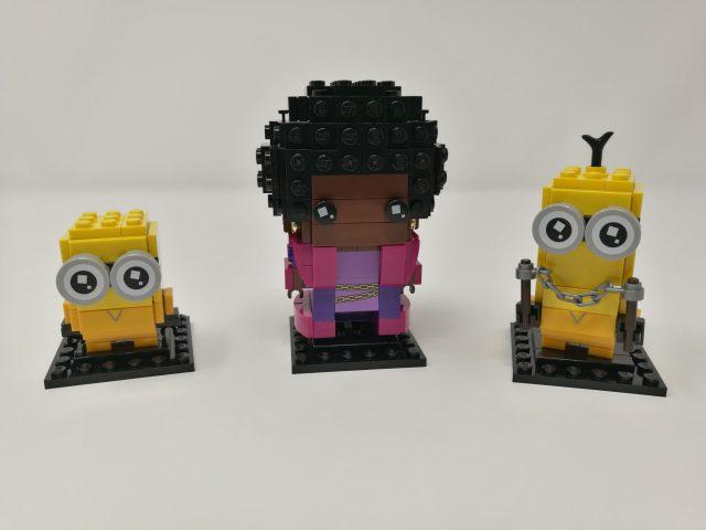 LEGO Brickheadz 40421 - Belle Bottom, Kevin e Bob