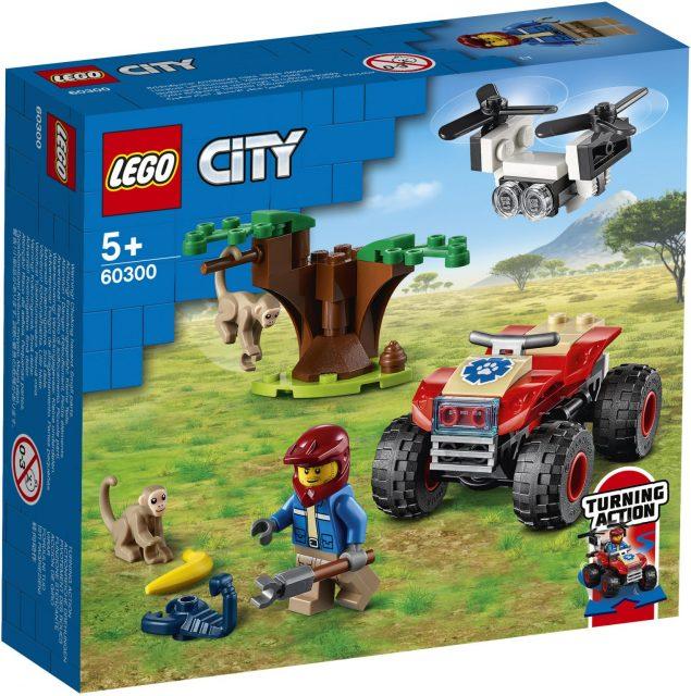 LEGO-City-Wildlife-Animal-Rescue-ATV-60300