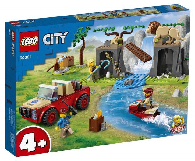 LEGO-City-Wildlife-Rescue-Off-Roader-60301