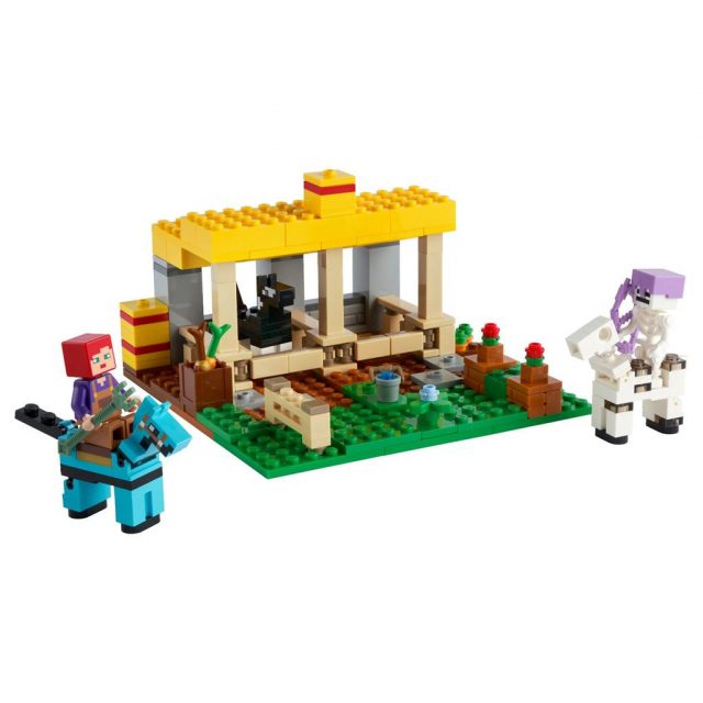 LEGO-Minecraft-The-Horse-Stable-21171