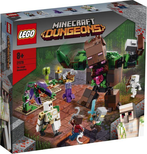 LEGO-Minecraft-The-Jungle-Abomination-21176