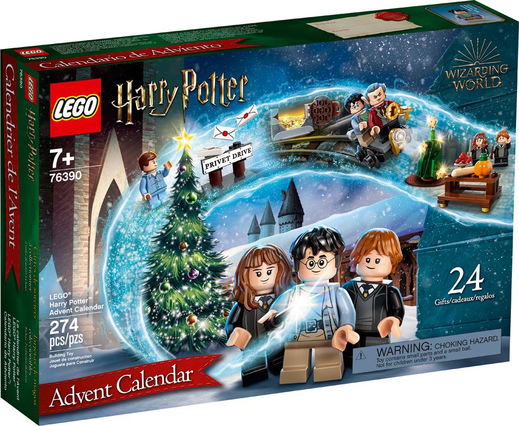Natale 2021 Calendario.Rivelato Il Calendario Dell Avvento Lego Harry Potter 2021 76390 Mattonito