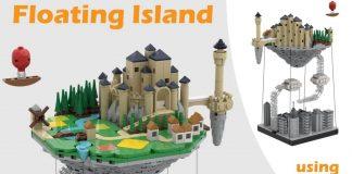 LEGO-Ideas-Floating-Island-Tensegrity-Project