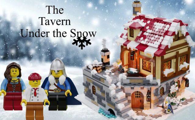 The tavern under the snow