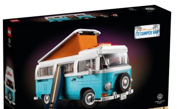 Camper van Volkswagen T2 (10279)