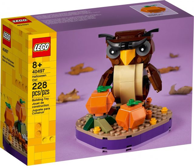 LEGO-Seasonal-Halloween-Owl-40497